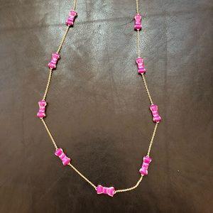 "Kate Spade ""Take A Bow"" Long Necklace"